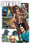 Skyward print for Downtown Comics
