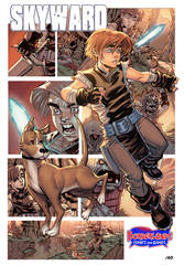 Skyward print for Borderlands Comics by thejeremydale