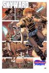 Skyward print for Borderlands Comics