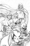 Magneto Thanos and Dr. Doom
