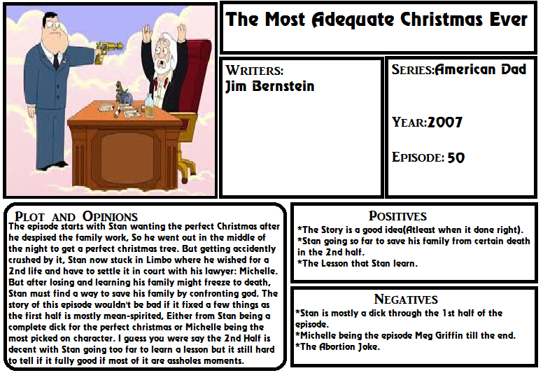 S.R. Mehpisode - The Most Adequate Christmas Ever by Stocking-Star ...