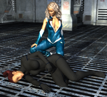 Spy Games 2120 - Melia and Kat - 13 by SheSpies