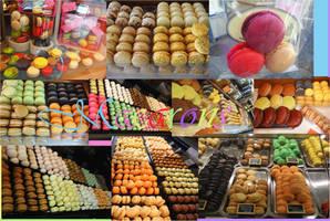 Macarons compilation by DororoBibi