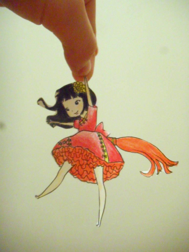 Chinese girl by DororoBibi