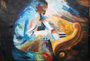the pianist by DororoBibi