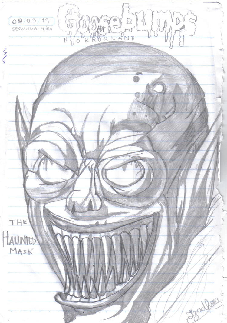 Goosebumps The Haunted Mask by Hakuisthebest on DeviantArt