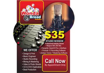 Wonda Bread Postcard by enteringmymind