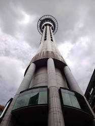 Auckland Sky Tower by enteringmymind