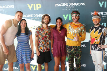Meeting Imagine Dragons by enteringmymind