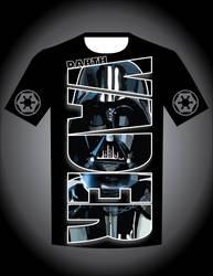 Darth Vader T-shirt Design by enteringmymind