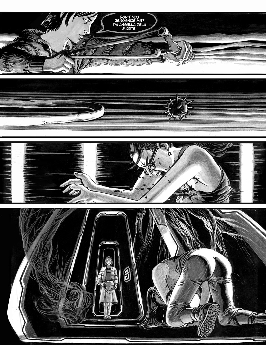 NEW PAGES for ANGELA DELLA MORTE!!! by STONEBOT