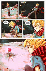 THE LITTLE PRINCE MEETS THE ROSE! by STONEBOT