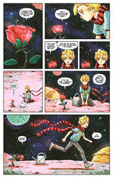 THE LITTLE PRINCE AND HIS ROSE! by STONEBOT