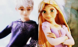 Rapunzel and Jack Frost