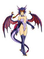 Kasumi Dragon by Artknight75