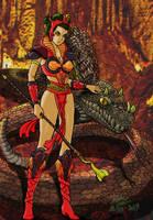 Putri Ular Siluman by Artknight75