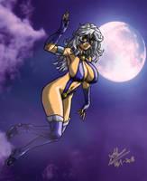 Dewi Bulan (Moon Goddess) by Artknight75