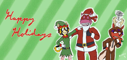 Bring Out The Candy Canes by BlurryDawgo