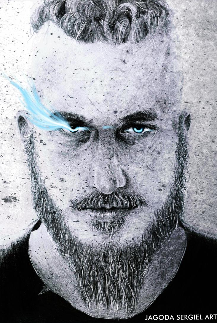Vikings Ragnar Lothbrok By Jagtru