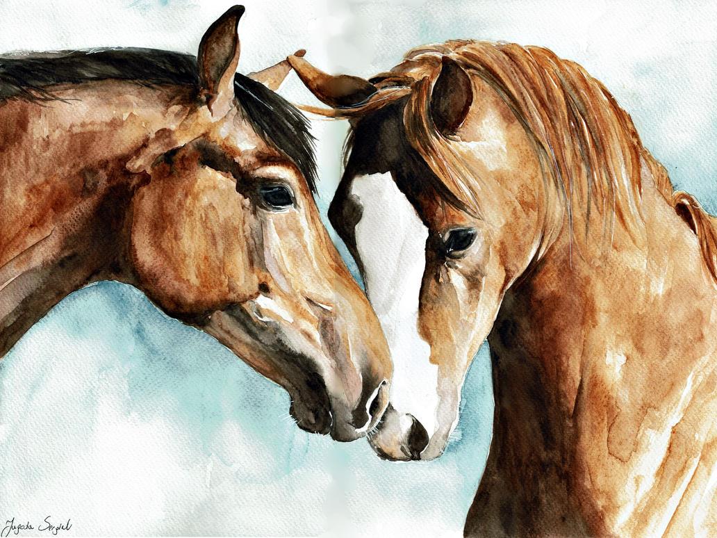 Horses by Jagtru