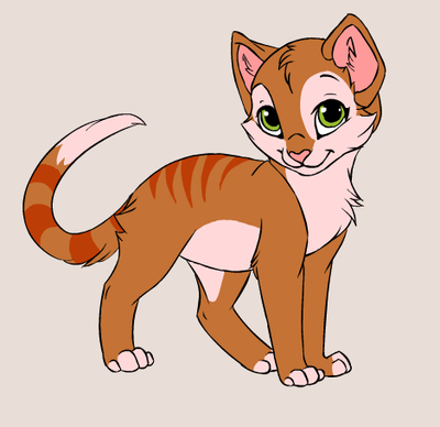My Kitten, Ginger by Jublenarris
