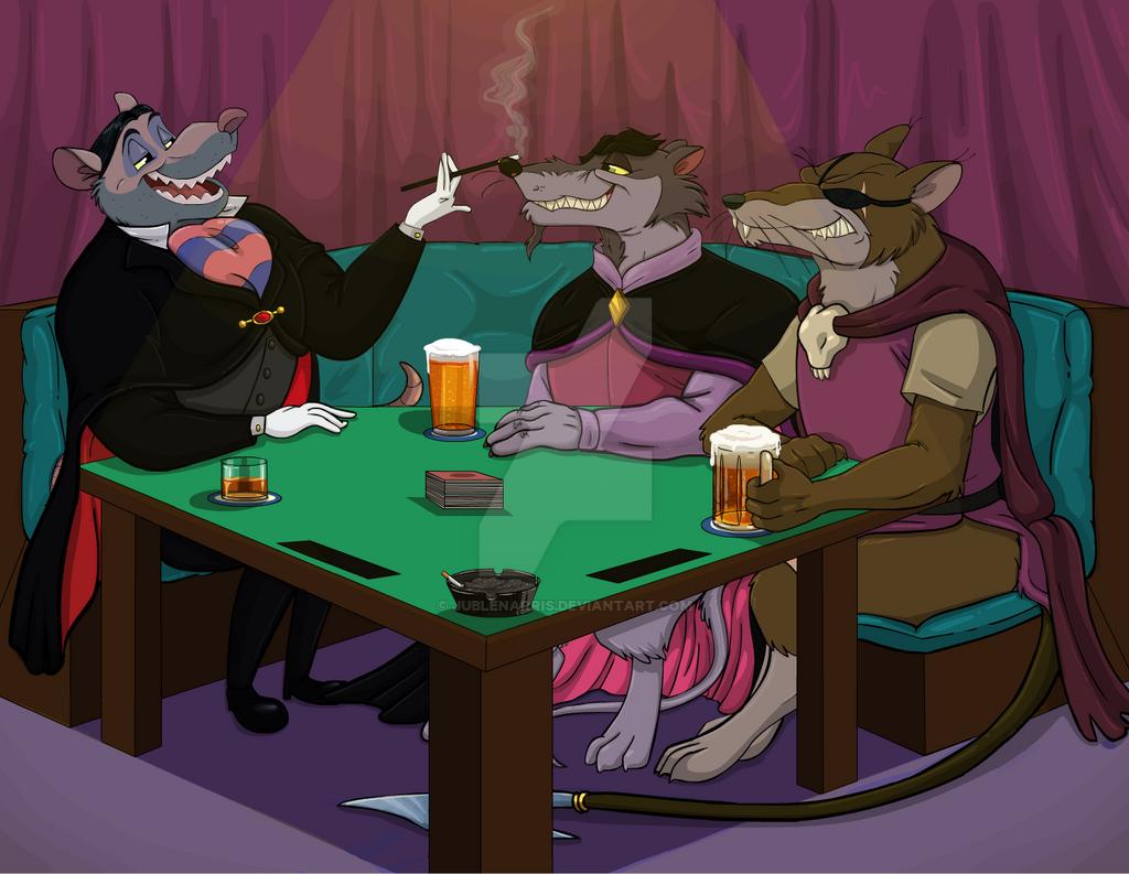 .:Ratty Poker Night:. by Jublenarris