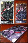 Aug Com :: Noire Badge