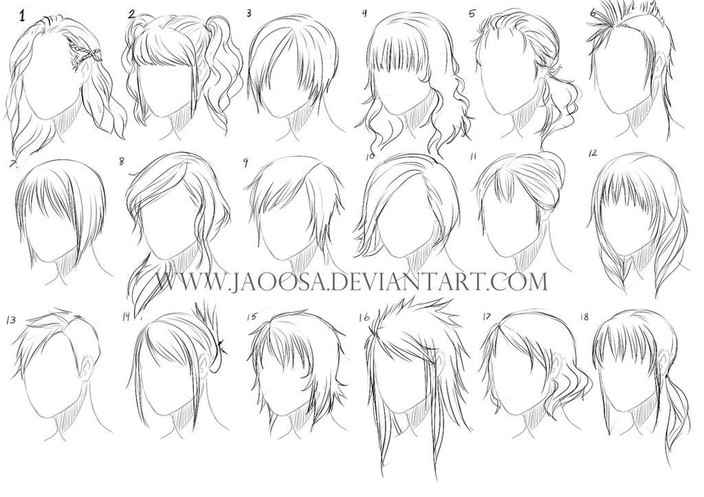 Hairstyles 03 By Jaoosa On Deviantart
