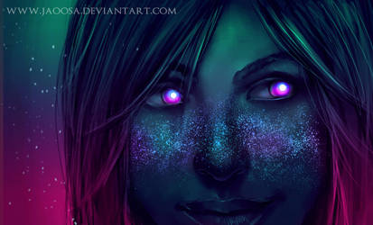 Space freckles by jaoosa