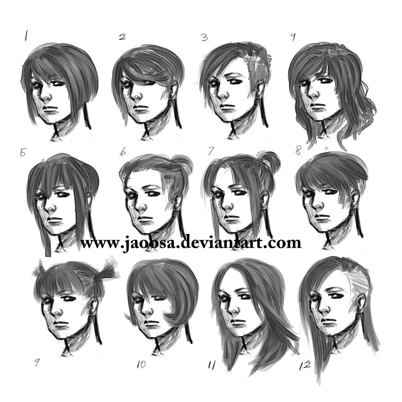 Women Hairstyle Tutorial on Sketch — Steemit