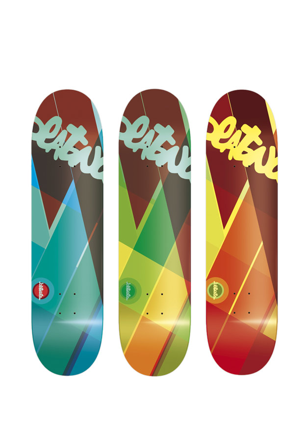 skateboard design by michael hanauer - Skateboard Design Ideas