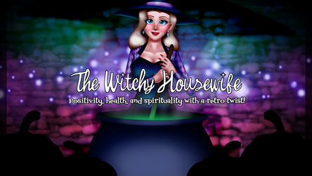 The Witchy Housewife Channel Art by d3zydration