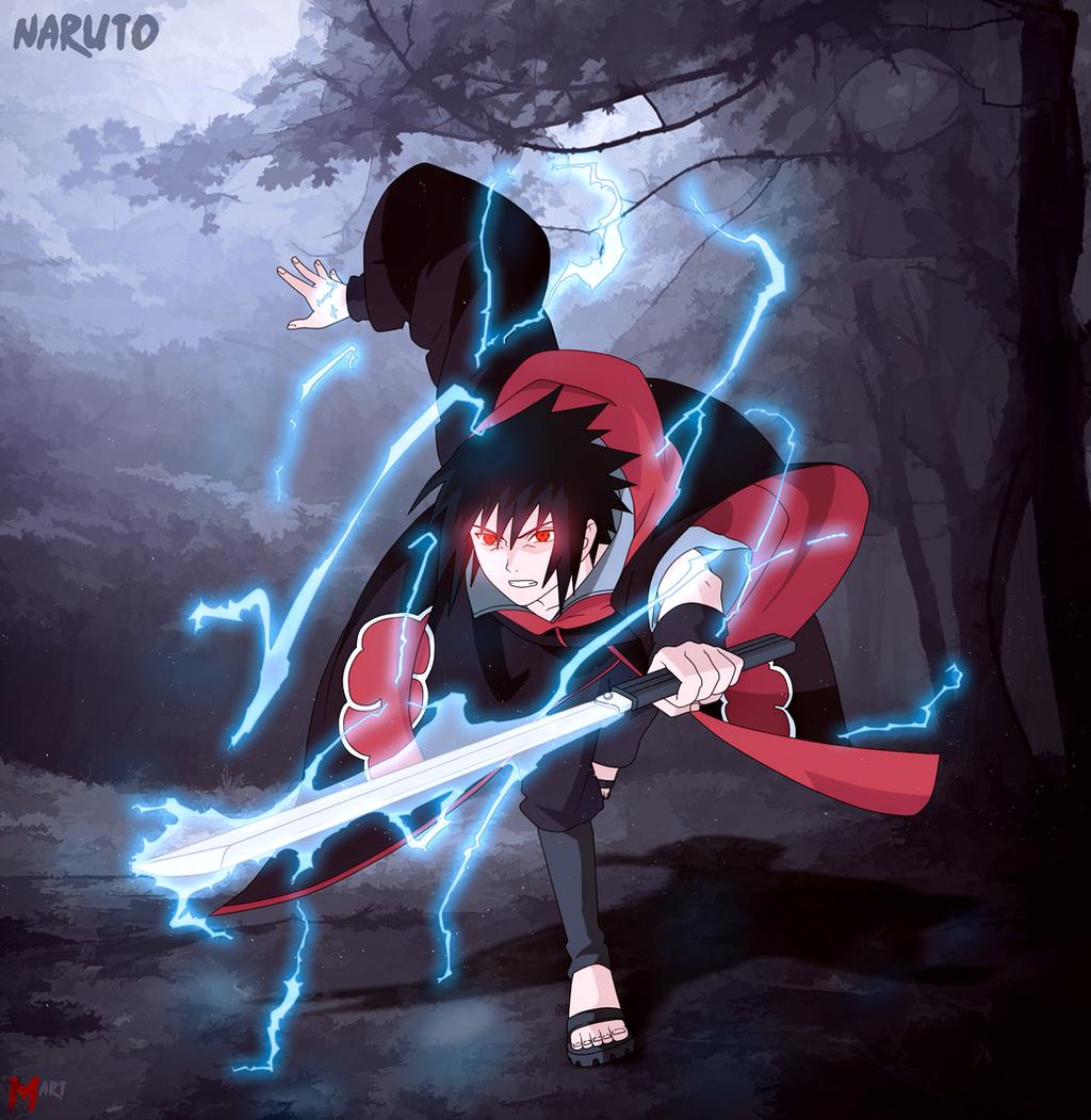 Sasuke Sword Chidori (Akatsuk) By MArttist On DeviantArt