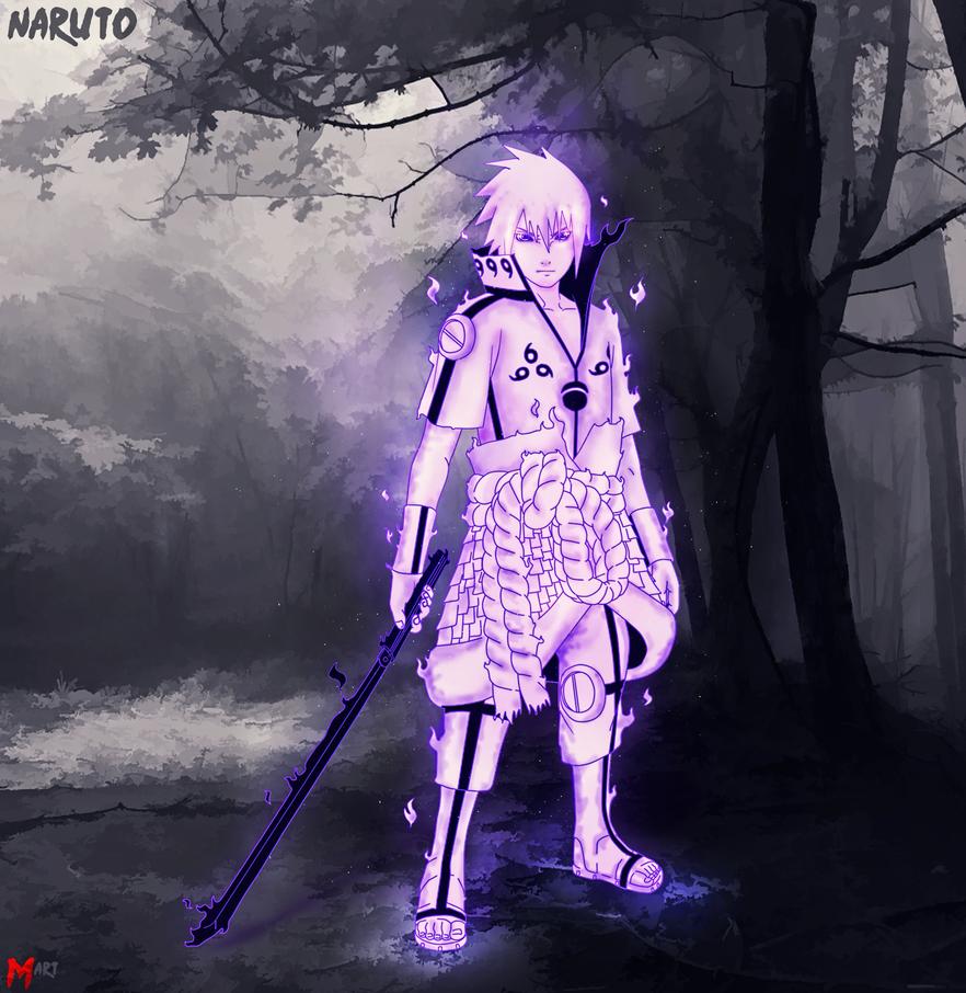 Sasuke Susanoo mode by MArttist on DeviantArt