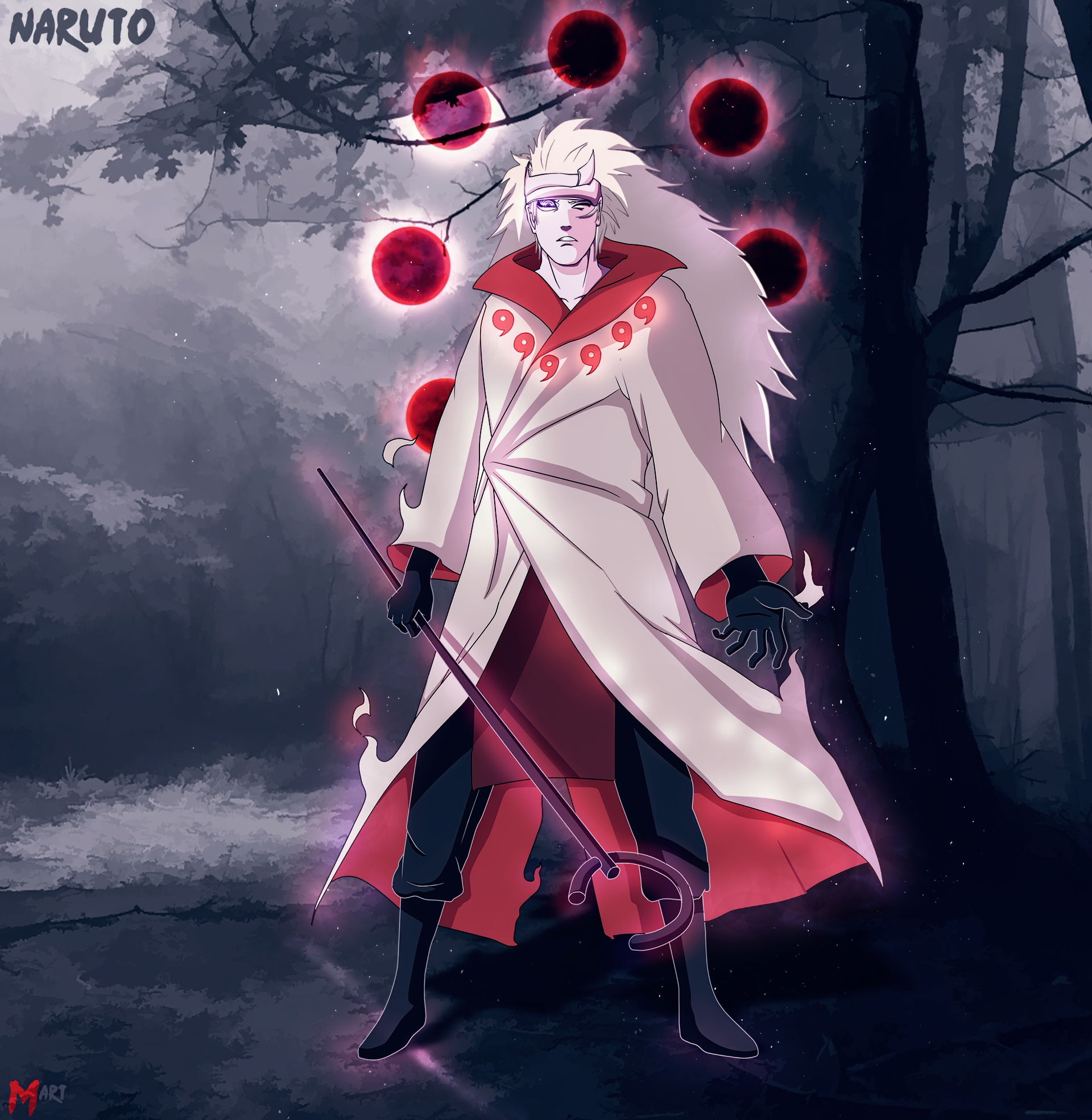 Six Paths However Naruto Does Not Have The Rinnegan In Sage