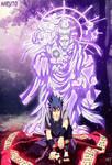 Sasuke with Indra Chakra