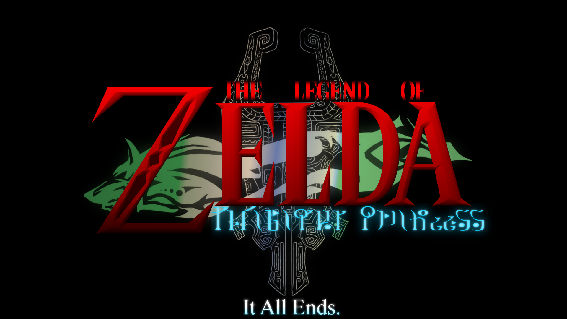 twilight princess logo wallpaper hd by bluesupersonic on