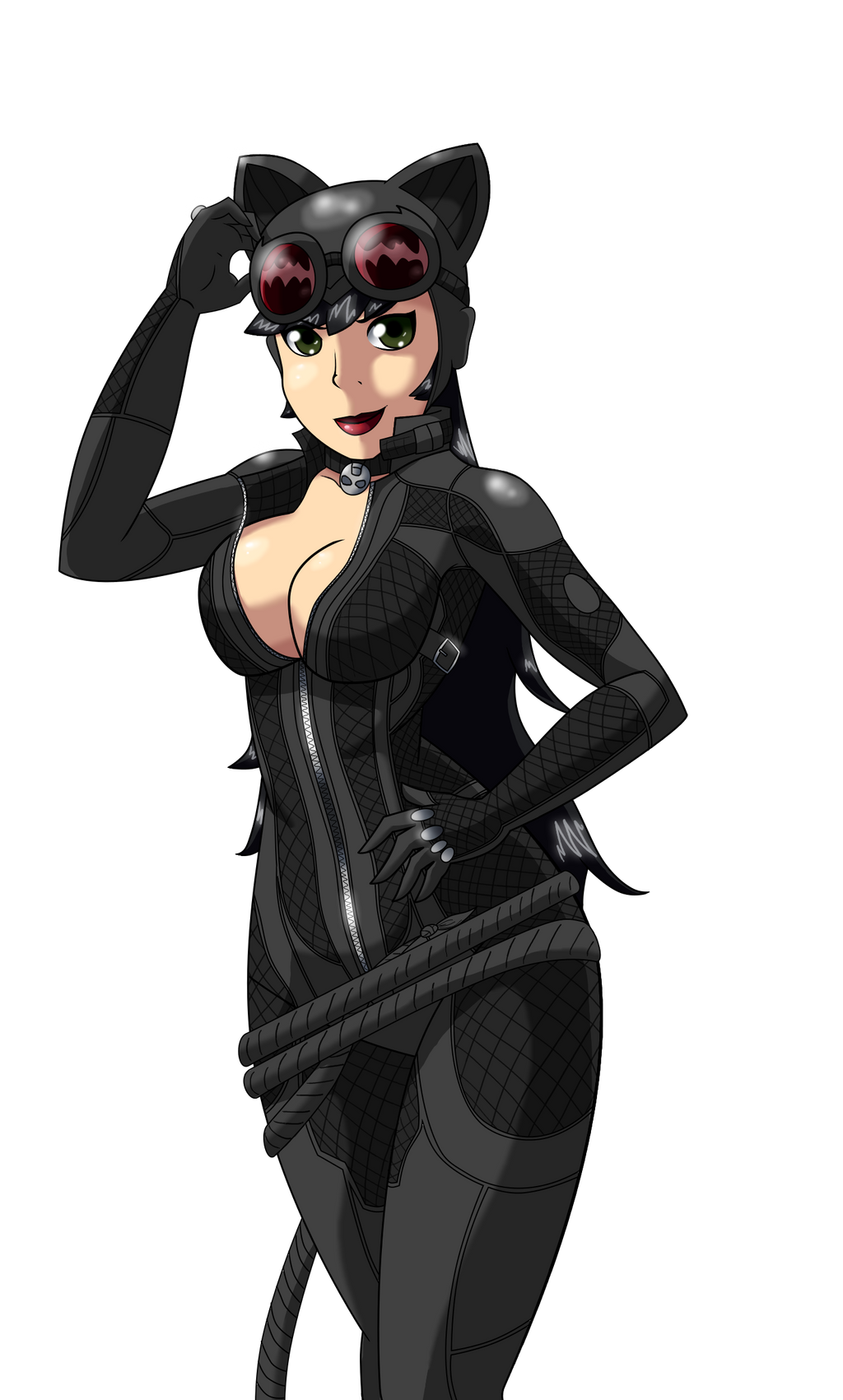 Catwoman arkham city unzipping her suit xvideos sex video