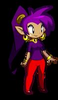 Shantae's Sweater alt (Commission)