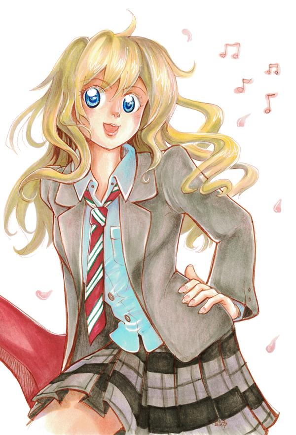 Kaori Miyazono by doodle-plaid
