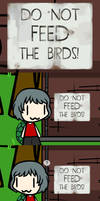 (Walfas) Do not feed the birds