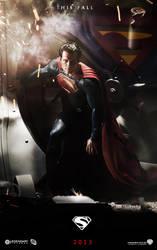 Superman Man of Steel Poster 2 by Kyl-el7
