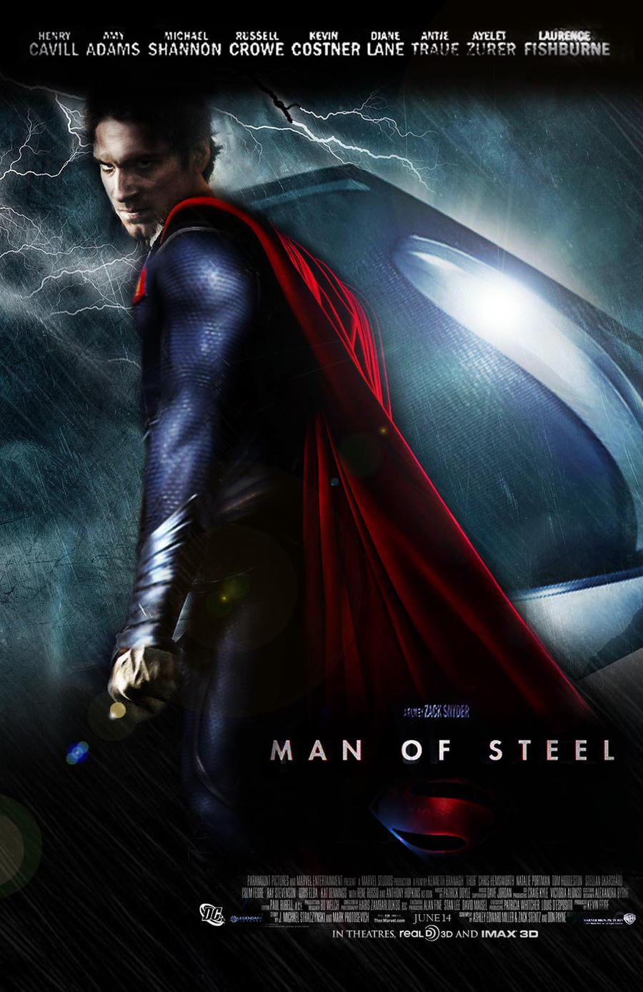 Man of Steel promo poster by Kyl-el7 on DeviantArt