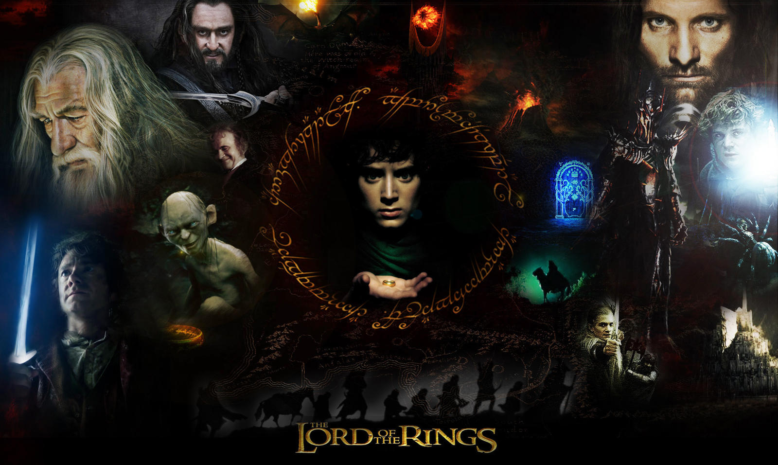 The Lord Of The Rings Wallpaper By Kyl El7 On Deviantart