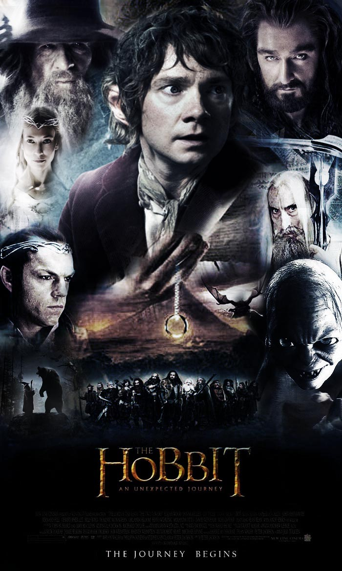 The Hobbit An Unexpected Journey Poster by Kyl-el7 on ...