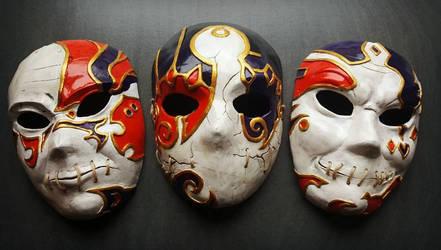 The Masks of Jack of Blades