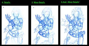 How I Draw Part.2. by Pharoahess