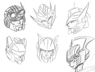 Transformer Headshots by Pharoahess
