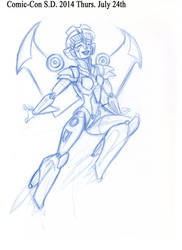 ComicCon2014 Doodle sketchs Part 3 by Pharoahess
