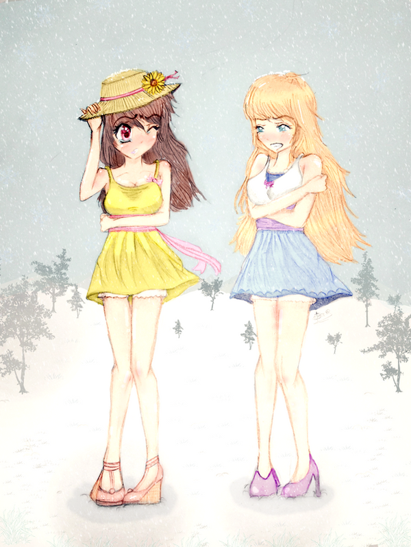 :C: Wardrobe Malfunction by Serii-Chan